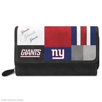 NY GIANTS WOMENS WALLET