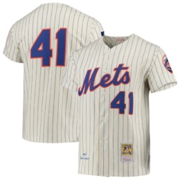 Tom Seaver New York Mets Mitchell & Ness Cooperstown Collection Authentic Jersey –