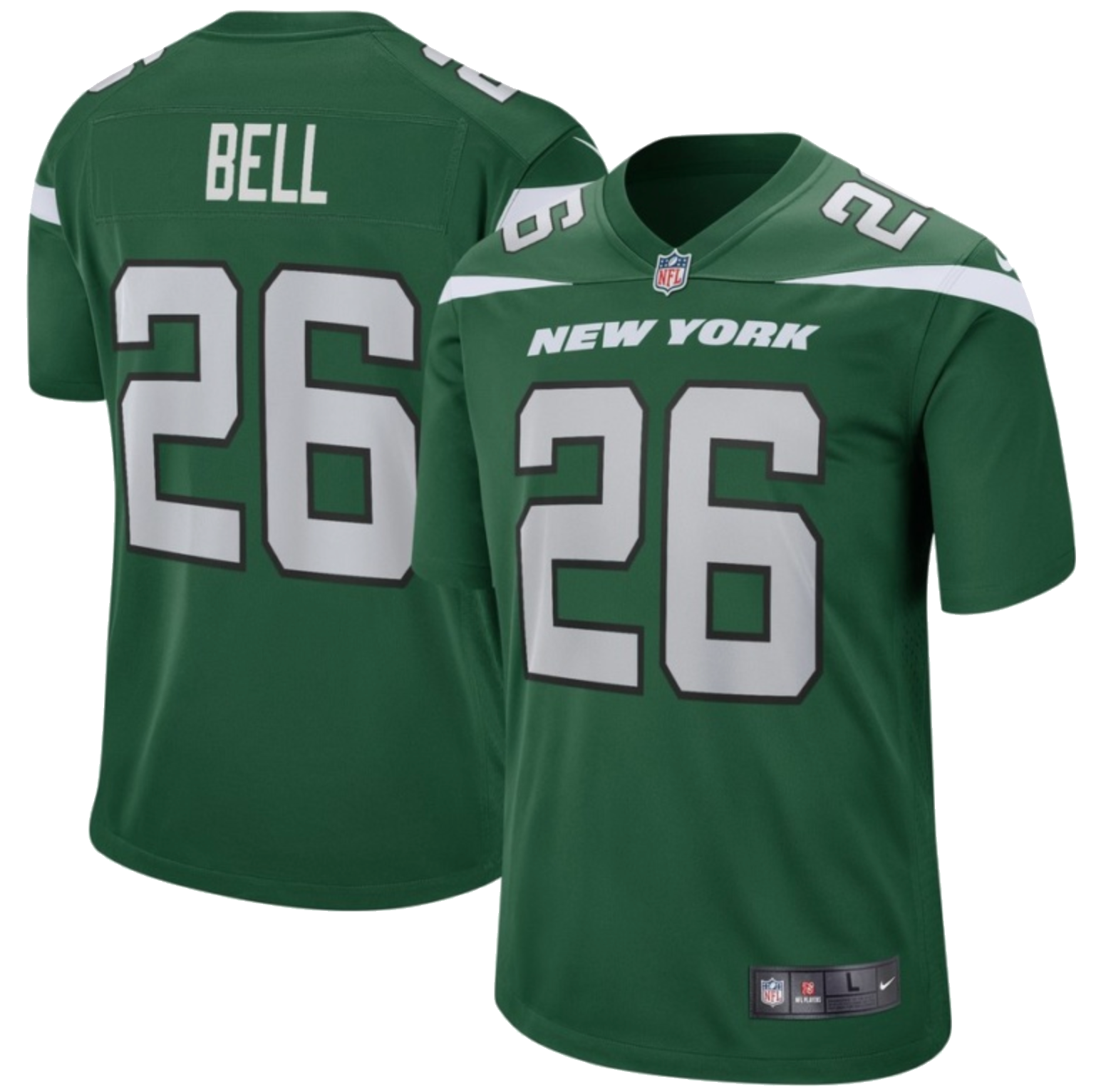 super popular 89760 da245 Le Veon Bell New York Jets Nike Game Jersey