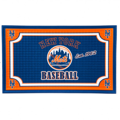 New York Mets Embossed Floor Mat