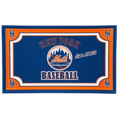 New York Mets Embossed Floor Mat