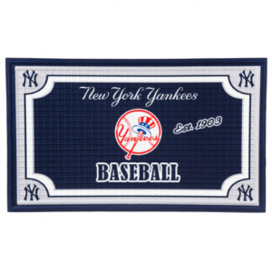 New York Yankees Embossed Floor Mat