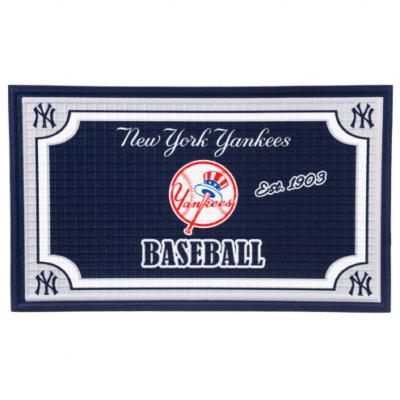 New York Yankees Embossed Floor Mat