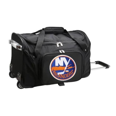 New York Islanders 22-Inch Wheeled Duffel Bag