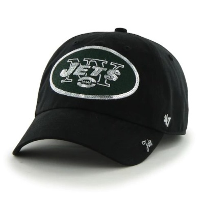 Women's '47 Brand New York Jets Sparkle Cap