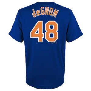 Boys New York Mets Degrom Tee
