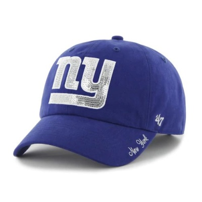 New York Giants Sparkle Adjustable Cap