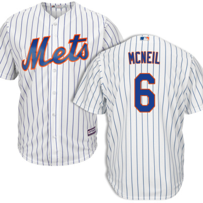Jeff Mcneil New York Mets Home Jersey by Majestic