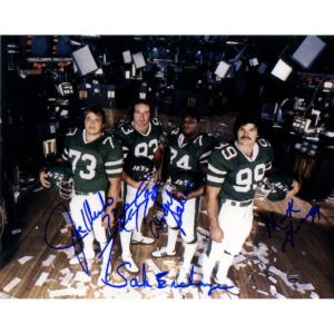 "Sack Exchange Multi-Signed Photo (Mark Gastineau Joe Klecko Abdul Salaam Marty Lyons) w/ ""Sack Exchange"" Insc"