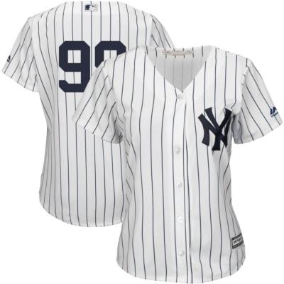 Majestic Aaron Judge New York Yankees Women's Jersey