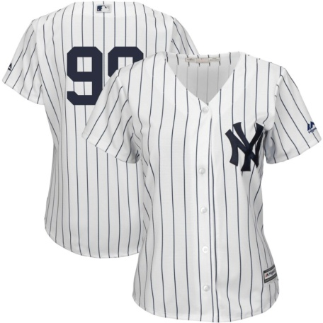 Majestic Aaron Judge New York Yankees Women's Jersey