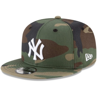 : Military Appreciation Day - Yankees Camo Cap Day