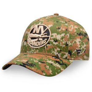 New York Islanders Camo Military Appreciation Hat