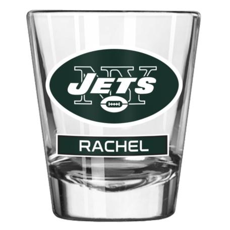 New York Jets 2oz. Personalized Shot Glass