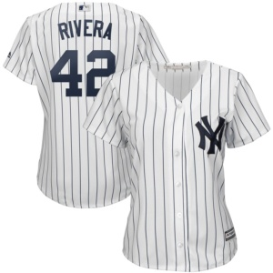 New York Yankees Mariano Rivera Majestic Women's 2019 Hall of Fame jersey