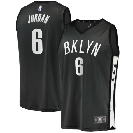 DeAndre Jordan Brooklyn Nets Youth Replica Jersey