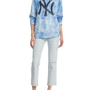 NY Yankees Tie Dye Hoodie-WOMEN'S