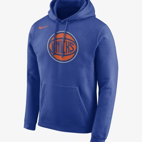 New York Knicks HOODIE Nike