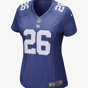 Women's Football Jersey New York Giants (Saquon Barkley)