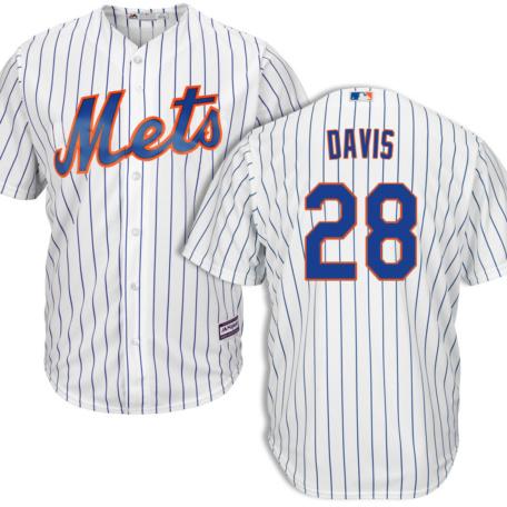 J.D. Davis New York Mets Home Jersey by Majestic
