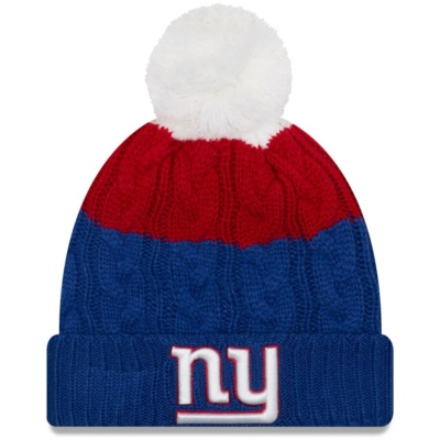 Women's New York Giants Knit Hat with Pom