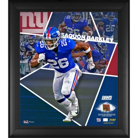 Saquon Barkley New York Giants Collage