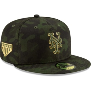 New York Mets Hat - Camo