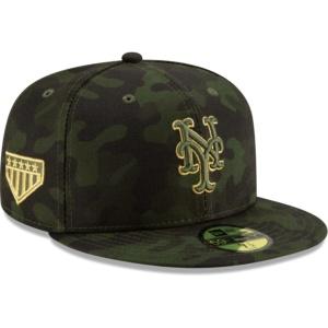 New York Mets Hat - Camo