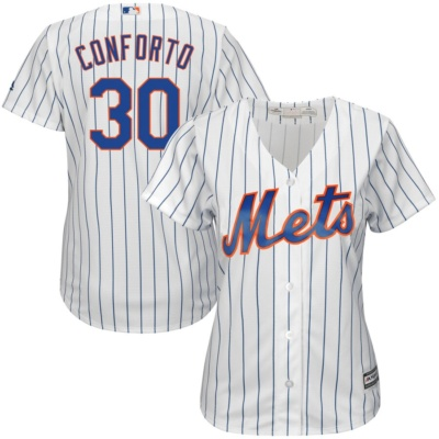 Michael Conforto New York Mets Majestic Women's Jersey -