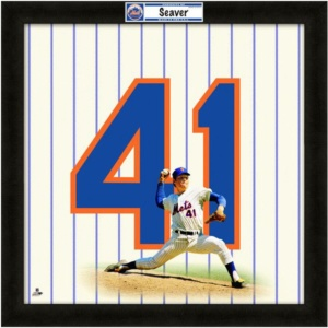 Tom Seaver New York Mets Uniframe