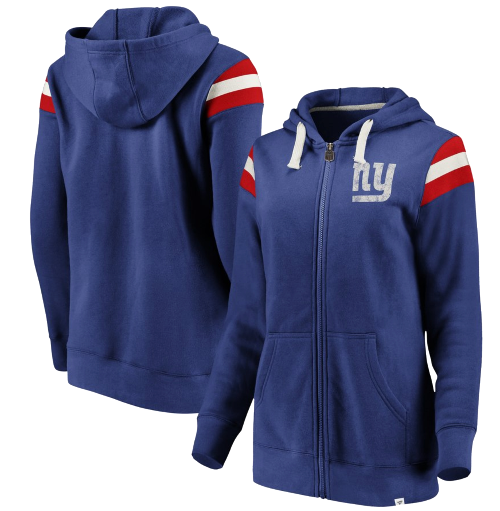 ceb00eea Women's New York Giants NFL Pro Line by Fanatics Branded Royal/Red ...