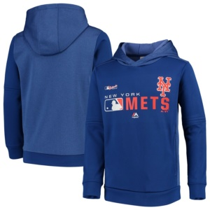 New York Mets Youth Pullover Hoodie -