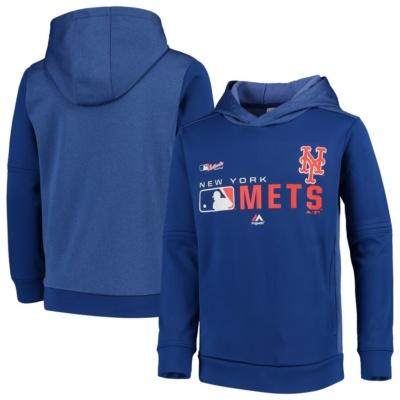 New York Mets Youth Pullover Hoodie -