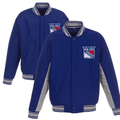 New York Rangers Full Snap Jacket -