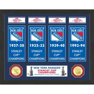 New York Rangers Stanley Cup Banner Collection