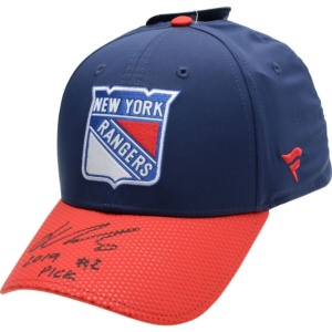 "New York Rangers Kaapo Kakko Fanatics 2019 NHL Cap with ""2019 #2 Pick"" Inscription"