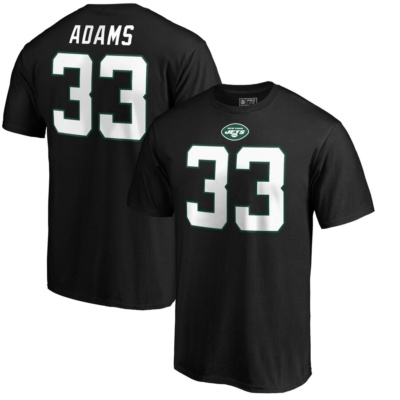 Jamal Adams New York Jets T-Shirt - Black