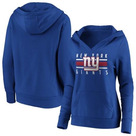 New York Giants Women's Pullover Hoodie -