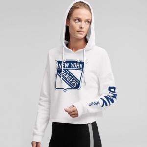 New York Rangers Pullover Hoodie women's