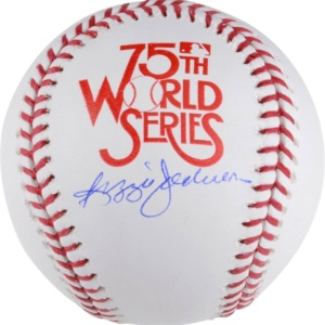 Reggie Jackson New York Yankees Autographed 1978 World Series Baseball -