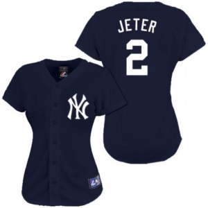 Women's Derek Jeter New York Yankees JERSEY