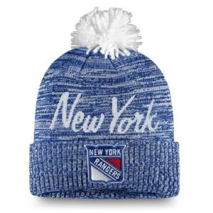 Women's New York Rangers Hat With Pom