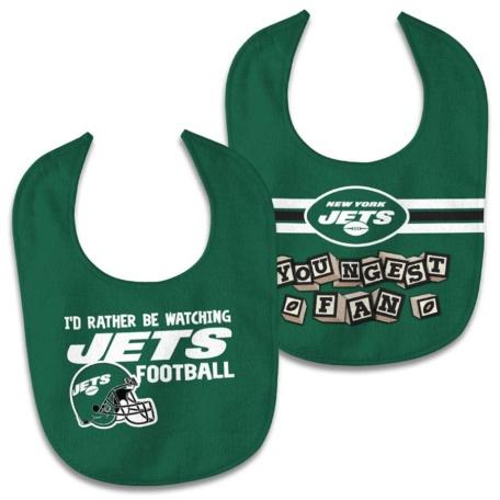 New York Jets Newborn Bib Set