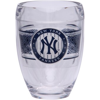 New York Yankees Stemless Wine Glass