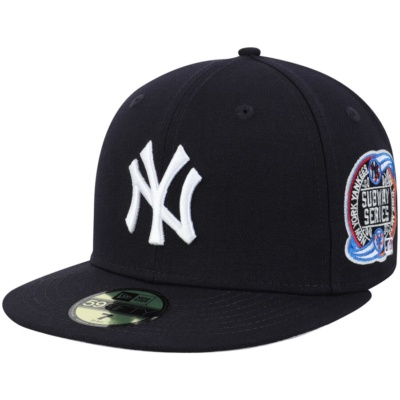 New York Yankees World Series Wool Team 59FIFTY Fitted Hat -