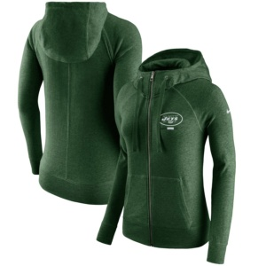 New York Jets Nike Women's Full-Zip Hoodie
