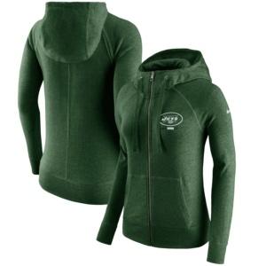 New York Jets Nike Women's Full-Zip Hoodie