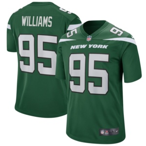 Quinnen Williams New York Jets Nike Game Jersey