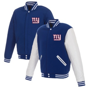 New York Giants Fleece Full-Snap Jacket