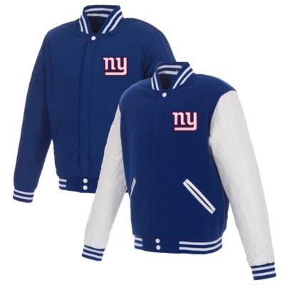 New York Giants Fleece Full-Snap Jacket